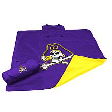 Logo Chair All Weather Blanket - East Carolina Un.