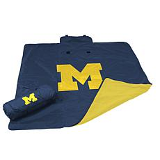 Logo Chair All-Weather Blanket - University of Michigan