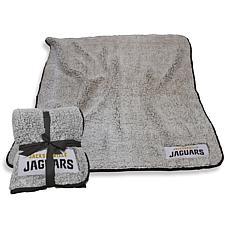 Logo Chair Officially Licensed NFL Frosty Fleece-Jacksonville Jaguars