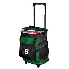 Logo Chair Rolling Cooler - Michigan State University