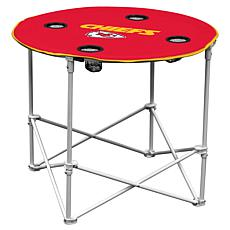 Logo Chair Round Table - Kansas City Chiefs
