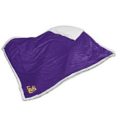 Logo Chair Sherpa Throw - Louisiana State University
