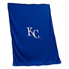 Logo Chair Sweatshirt Blanket - Kansas City Royals