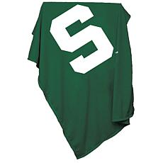 Logo Chair Sweatshirt Blanket - Michigan State Un.