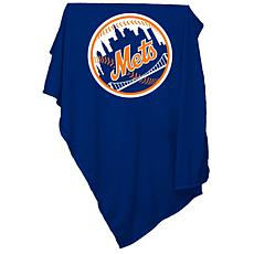 Logo Chair Sweatshirt Blanket - New York Mets