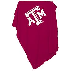 Logo Chair Sweatshirt Blanket - Texas A&M University