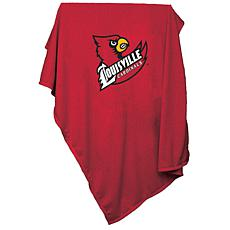 Logo Chair Sweatshirt Blanket - Un. of Louisville