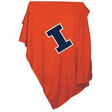 Logo Chair Sweatshirt Blanket - University of Illinois