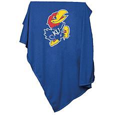 Logo Chair Sweatshirt Blanket - University of Kansas
