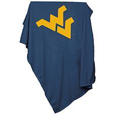 Logo Chair Sweatshirt Blanket - West Virginia Un.