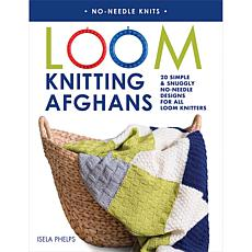 """Loom Knitting Afghans"" Book by Isela Phelps"