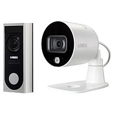 Lorex 1080p Wi-Fi Video Doorbell & Smart 1080p Deterrence Camera