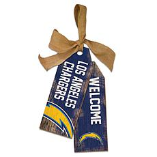 Los Angeles Chargers 12 Inch Team Tags