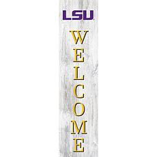 """Louisiana State University 48"""" Welcome Leaner"""