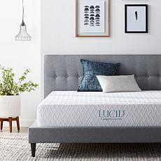 "LUCID Comfort Collection 10"" Plush Gel Memory Foam Mattress - Full"
