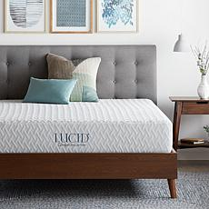 "LUCID Comfort Collection 10"" Plush Memory Foam Mattress - Cal King"