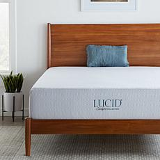 "LUCID Comfort Collection 12"" Plush Gel Memory Foam Mattress - Queen"