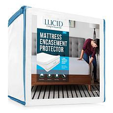 LUCID Comfort Collection Encasement Mattress Protector - King
