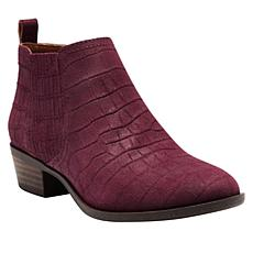 Lucky Brand Bimare Leather or Suede Ankle Bootie
