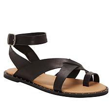 Lucky Brand Farran Leather Flat Sandal