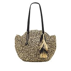 Lucky Brand Ney Straw Circle Tote