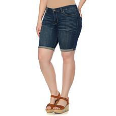 Lucky Brand Stretch Denim Bermuda Short - Plus
