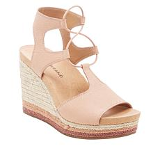 0e20b635150a Lucky Brand Yeijida Leather Jute Wedge Espadrille Sandal