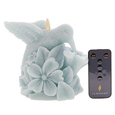 Luminara Hummingbird Flameless Candle with Remote