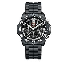 "Luminox ""Navy SEAL Colormark Chronograph Carbon"" Watch"