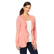 LYSSE Ruffled Edge Cardigan - Missy