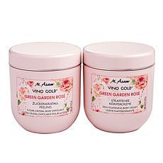 M. Asam Vino Gold Green Garden Rose Exfoliant and Body Cream