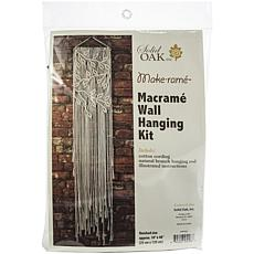 Macrame Wall Hanger Kit - Leaves and Branches