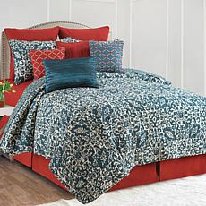 Madison Adriatic Full/Queen Quilt Set