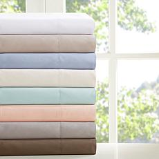 Madison Park 3M Microcell Moisture-Wicking Sheet Set - Blush - Twin