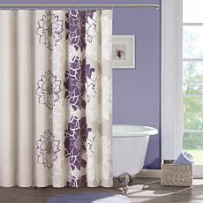 Madison Park Bridgette Shower Curtain