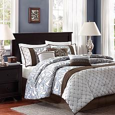 Madison Park Crosby Comforter Set - Queen