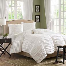 Madison Park Delancey Comforter Set Twin White