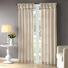 "Madison Park Emilia Curtain - Champagne - 50"" x 84"""