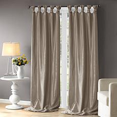 "Madison Park Emilia Curtain - Pewter - 50"" x 120"""