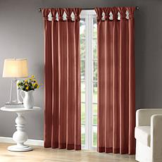 "Madison Park Emilia Window Curtain - Spice - 50"" x 84"""