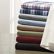Madison Park Essentials Micro Splendor Sheet Set - Blue - King