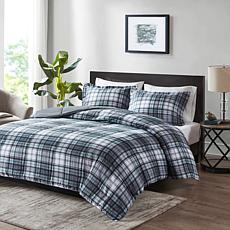 Madison Park Essentials Parkston 3M Comforter Set Grey King/Cal King