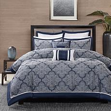 Madison Park Medina Navy Comforter Set - Cal King
