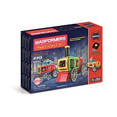 Magformers Power Vehicle 81-Piece Set