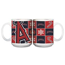 Major League Baseball Ugly Sweater Mug - Los Angeles Angels