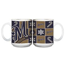 Major League Baseball Ugly Sweater Mug - Milwaukee Brewers