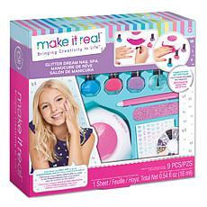 Make it Real Glitter Dream Nail Spa DIY Nail Art Kit