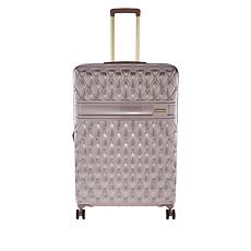"Marcy McKenna Jet Setter 30"" Quilted Hardside Wheeled Luggage"