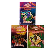 Mardles Set of 3 Interactive Sticker Books