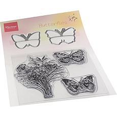 Marianne Design Tiny's Butterflies Stamp & Die Set